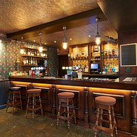 Refurbished Bar area.