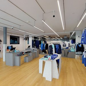 Looking inside the 66°North flagship store at Laugavegur 17-19