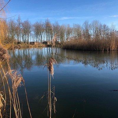 Fishing lakes.