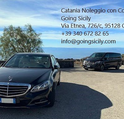 Vi portiamo nei luoghi più belli della Sicilia! Servizio di Noleggio Auto con Conducente in Sicilia.