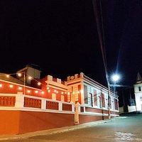 Fachada do quintal do Casarão 89 onde está instalada a hamburgueria do Braseiros.