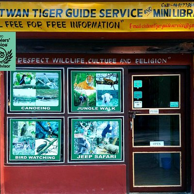 The Chitwan Tiger Guide Service And Mini Library, Sauraha, Chitwan, Nepal.