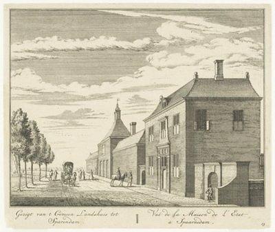 Gravure, wsl 2e helft 18e eeuw