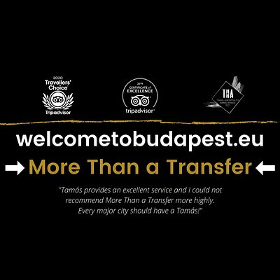 Get the best what Budapest can offer!  Book the More Than a Transfer now: http://welcometobudapest.eu/more-than-a-transfer-welcome-to-budapest/