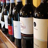 Alcuni dei nostri vini.