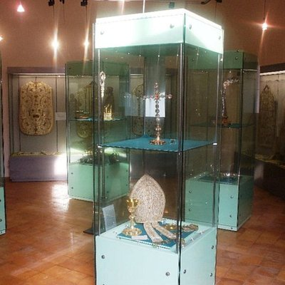Interno del museo diocesano di Acerenza