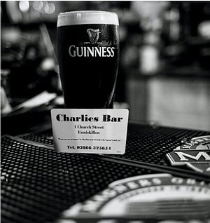 Charlie's Loyalty card.