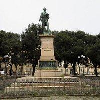 Il monumento a Bettino Ricasoli