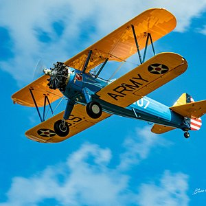 Flying over Port Aransas.   Just an airplane cruise.   Or thrilling Aerobatics.   Or extreme Skydiving!    It's YOUR choice!