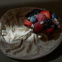 Brunch: tarteleta de frutos rojos