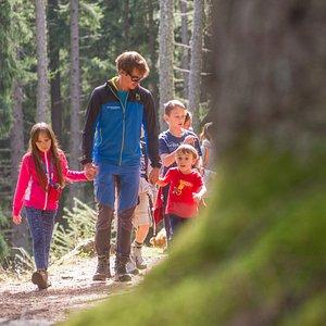 An ordinary Experience, nel bosco con i bambini