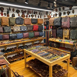 Some pictures from inside of Galata Leather