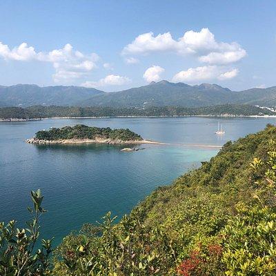 Sharp Island in the Kiu Tsui Country Park