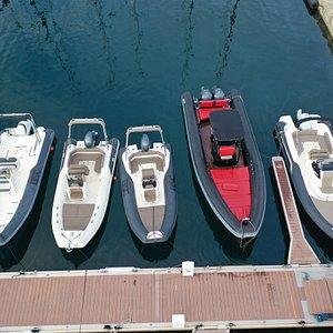 La flotte au port Tino Rossi