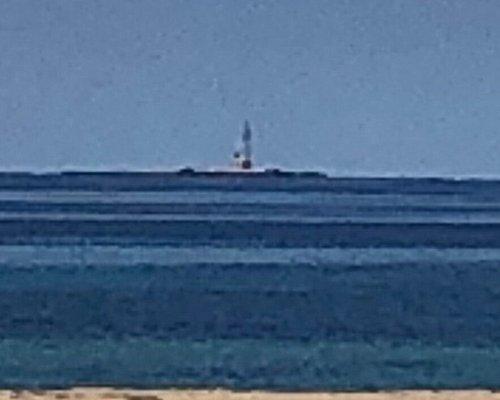 Visto dalla Spiaggia di San Giuliano ...