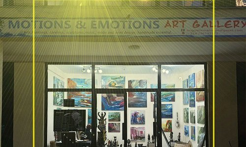 Motions & Emotions Art Gallery