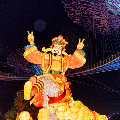 River Hongbao 2021 at Gardens By the Bay