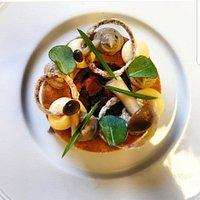 Onglet Tartare – Ceps - Crispy Roscoff Onions