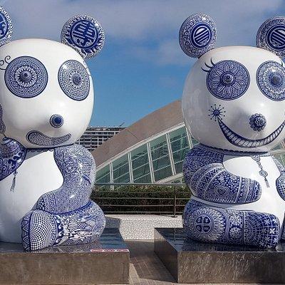 Pandas (L'Umbracle-Hung Yi)