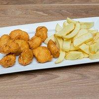 Chicken Bites and chips