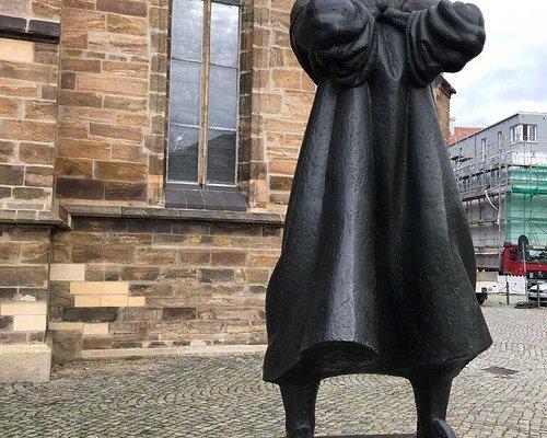 Thomas Müntzer und Bauernkrieg Denkmal Nicolaistrasse