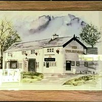 Oil painting by a friend of our pub