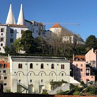 It is short walk along the Volta do Duche. It takes you from the train station into the historic town centre. Along the way, you can see the iconic pointed towers of the Sintra National Palace.