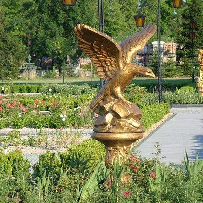 Ogrody -Pałac Bursztynowy