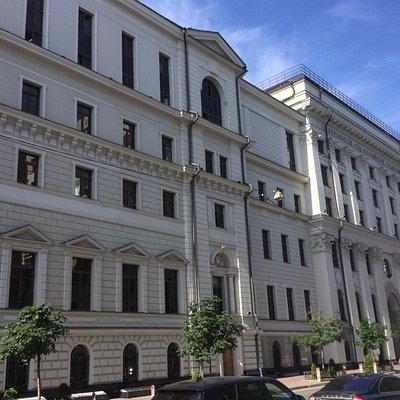 Верховный Суд РФ на Поварской улице, 15