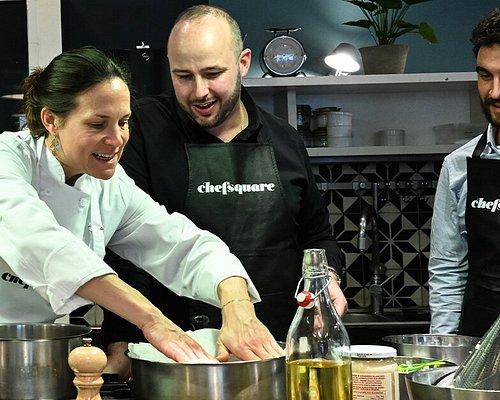Atelier de cuisine de saison avec notre cheffe Diane Thuret dans notre atelier de Beaubourg.