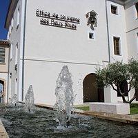 Vue de l'Office de Tourisme des Deux Rives
