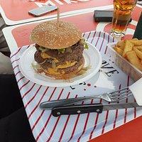 Burgers 3 steaks, demande d'un client (nous nous adaptons à vos demande)