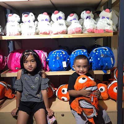 They also have souvenir shops so your kids can choose from stuff toys to other souvenirs you can buy as a remembrance for the visit.