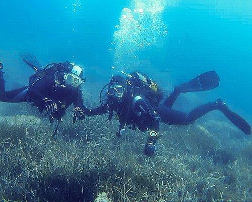 Bautizo de buceo en la Playa de La Azohia