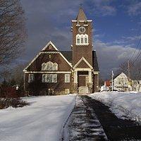 ME - NORTH BERWICK - FIRST BAPTIST CHURCH - BUILDING