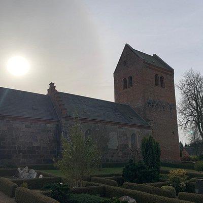 Kirken set fra nord