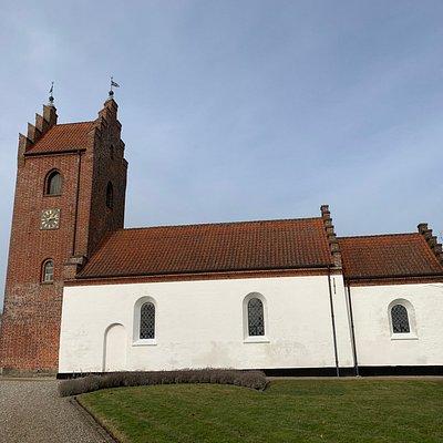 Kirken set fra syd
