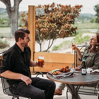Enjoy our spacious patios!