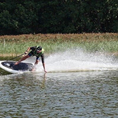 Action auf dem Wasser