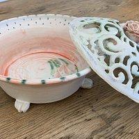 Porcelain Bowls by Saundra Reiner