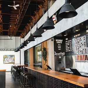 Pre COVID tasting room layout