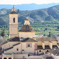Iglesia San Sebastián de Ricote   Ricote, Murcia, Spain