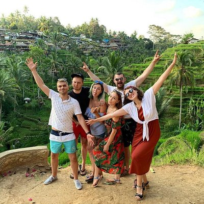 Happy Travelers in Bali