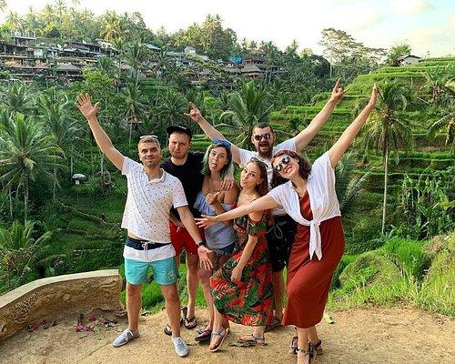 Happy Travelers in Bali