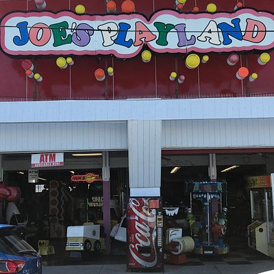 Joe's Playland has a second location at Salisbury Beach with more games!