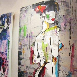 Savine Ravat's paintings