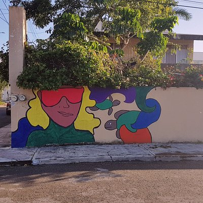 Find this Mural to find us.