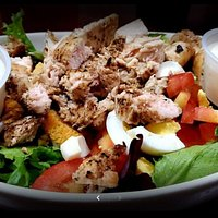 Amazing chicken salad made to order! LOVE IT!