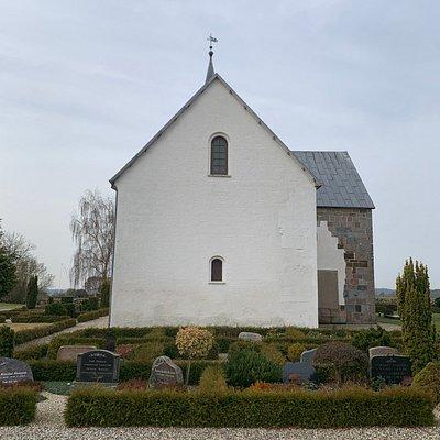 Kirken set fra øst