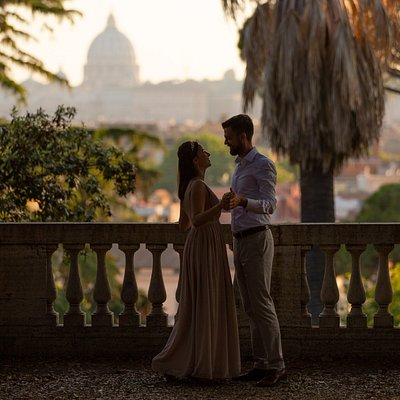 Honeymoon Photo shoot in Rome